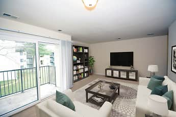 Living Room, River Front Apartments, 0