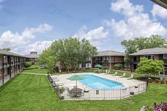 Pool, Huntington House Apartments, 0