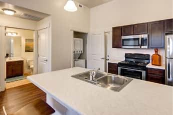 Kitchen, West Station Apartments, 0