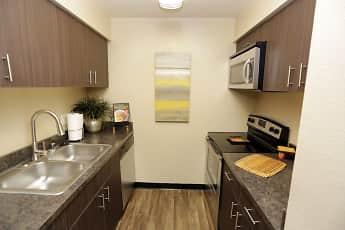 Kitchen, Aspenleaf Apartments, 1