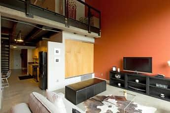 Living Room, Gateway Lofts, 1