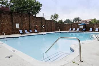 Pool, District At West Market Apartments, 2