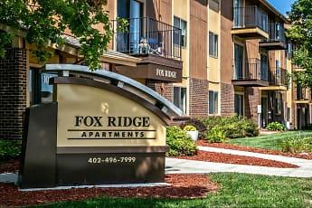 Community Signage, Fox Ridge Apartments, 0