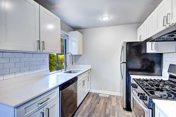 Kitchen, Timbre Apartments, 0