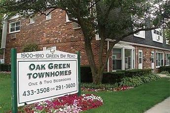 Community Signage, Oak Green Townhomes, 0