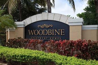 Community Signage, Woodbine Apartments, 2