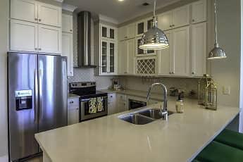 Kitchen, Solstice Apartments, 0