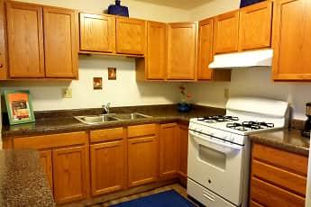Kitchen, Greenbrook Apartments, 0