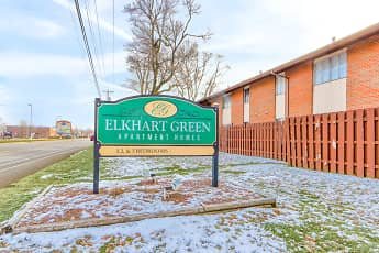 Community Signage, Elkhart Green Apartments, 0
