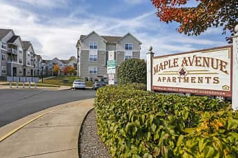 Community Signage, Maple Avenue Apartments, 0