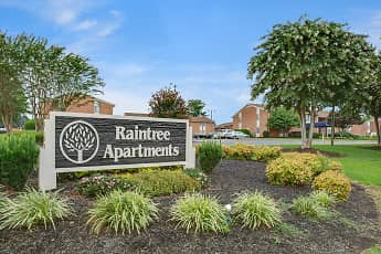 Community Signage, Raintree Apartments, 0