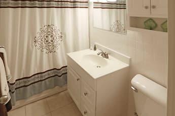 Bathroom, 1600 Elmwood Avenue Apartments, 2