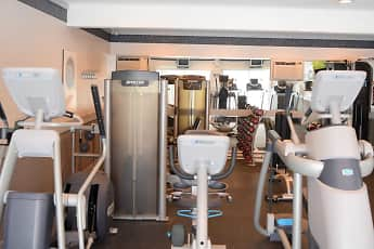 Fitness Weight Room, Town Hall Terrace Apartments, 2