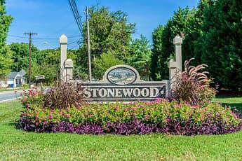 Community Signage, Stonewood Apartments, 0