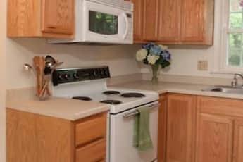 Kitchen, Colonial Village Apartments, 1