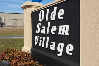 Community Signage, Olde Salem Village, 1