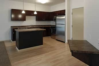 Kitchen, The Cascades Apartments, 0