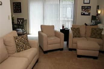 Living Room, North Hills Apartments, LLC, 0