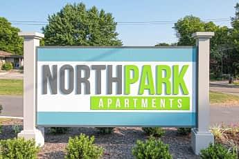 Community Signage, North Park Apartments, 0