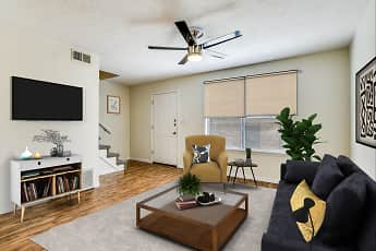 Living Room, Windmill Townhomes and Duplexes, 0