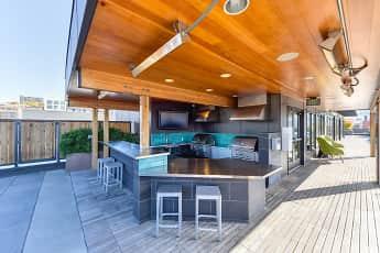 Pool, Rivet Apartments, 1