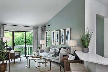 Living Room, River Oaks Of Rochester Hills, 0