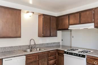 Kitchen, Sutter's Mill Apartments, 0