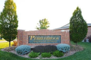 Community Signage, Pebblebrook Apartments And Townhomes, 0