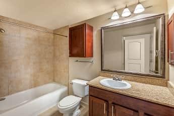 Bathroom, Post Heights, 2