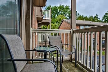 Patio / Deck, Cedar Point Apartments, 2