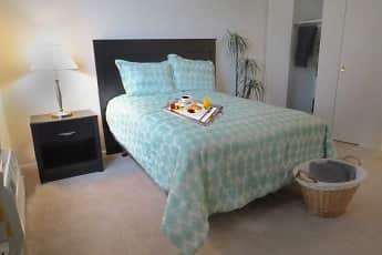 Bedroom, Brittany Apartments, 1