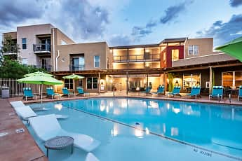 Pool, ABQ Uptown Apartments, 2