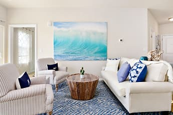Living Room, Oceans East Luxury Apartment Homes, 0