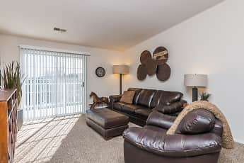 Living Room, Wellington At The Dunes Estates, 0