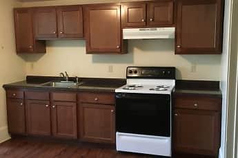 Kitchen, Williamsport Apartments, 1