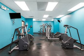 Fitness Weight Room, Concord Towers, 2