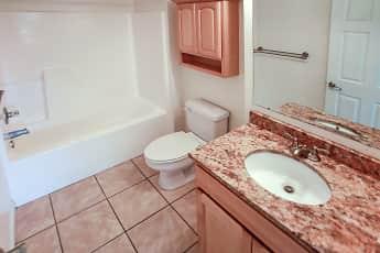 Bathroom, Landings of Pensacola Condominiums, 2