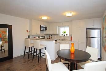 Dining Room, Bluebird Apartments, 1