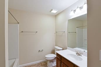 Bathroom, Residences at Wheaton Village, 2
