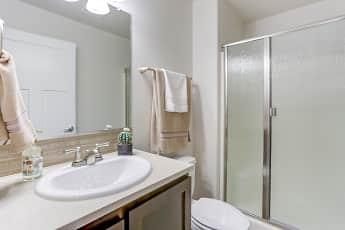 Bathroom, Dawson Village Apartments, 2