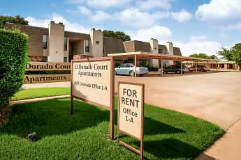 Community Signage, El Dorado Court Apartments, 0