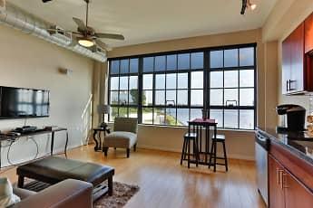 Living Room, Riverview Lofts, 0