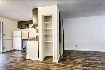 Kitchen, Oregon Trail Apartments, 0