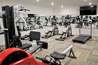 Fitness Weight Room, The View at Manayunk Apartments, 2