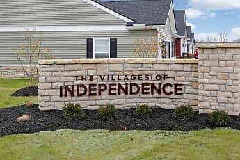 Community Signage, Villages of Independence, 2