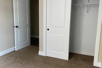 Bedroom, 221 Trowbridge Flats, 2