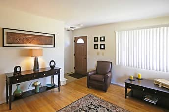 Living Room, Bradley Place Townhomes, 0