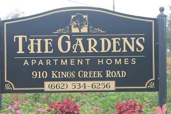 Community Signage, The Gardens, 1