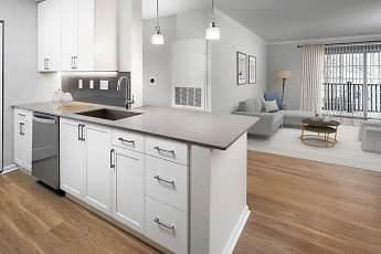Kitchen, Avalon New Canaan, 1