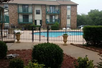 Pool, Indian Oaks Apartments, 0